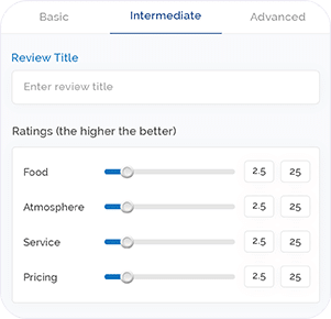 Hitscenes - Rating & Reviewing system